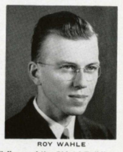 Roy Wahle 1943 Hyakem yearbook