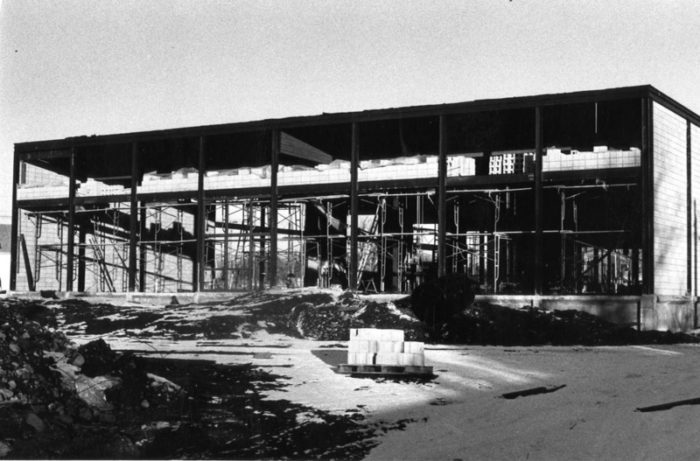 Jongeward construction 1970