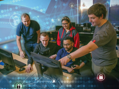 Thwarting 'Hacktivists': CWU partners with industry to prepare students for real-world cyber-attacks